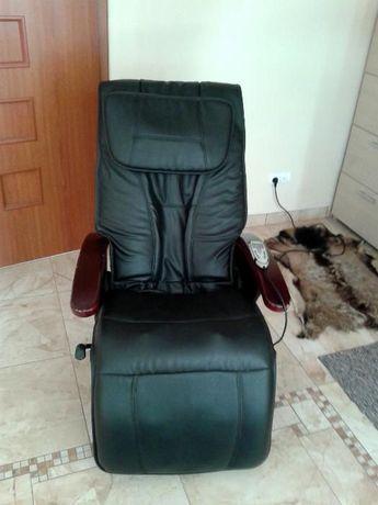 fotel masujący do domu/salonu super okazja