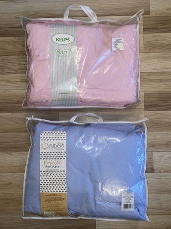 Pościel dziecięca Piccolo C-7 do dostawki Klupś różowa, niebieska