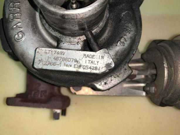 Turbo GT1749V FIAT STILO 1.9 JTD