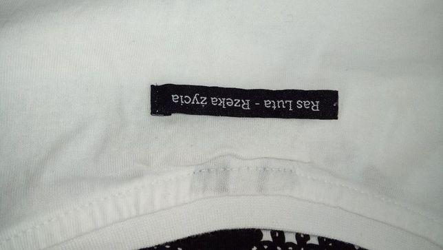 Nowy T-shirt autografy JR Stress, Ras Luta