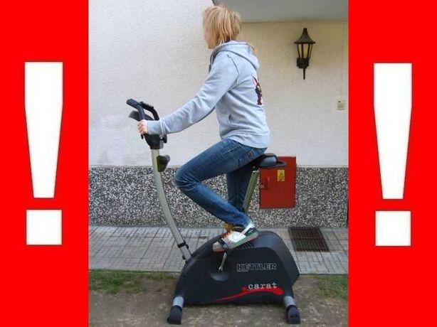 Niemiecki ROWER magnetyczny KETTLER CARAT + SENSORY !