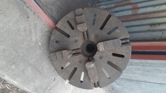 Uchwyt tokarski 500 mm czteroszczękowy niezależny planszajba zabierak