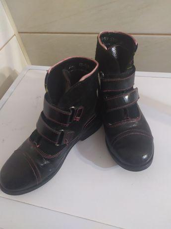 Черевички, демисезонная обувь , натуральна шкіра