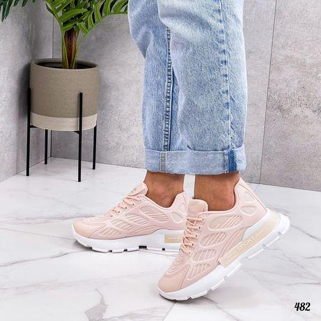 38 41 размер Розовые кроссовки.Пудровые
