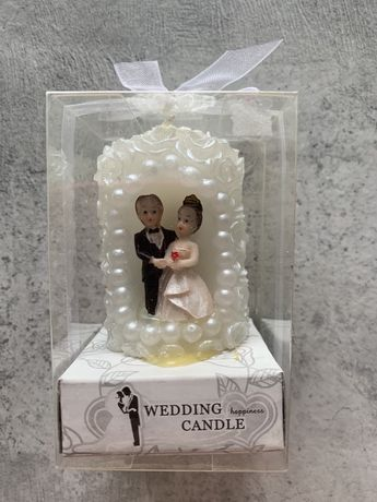 Свадебная свеча Жених-невеста