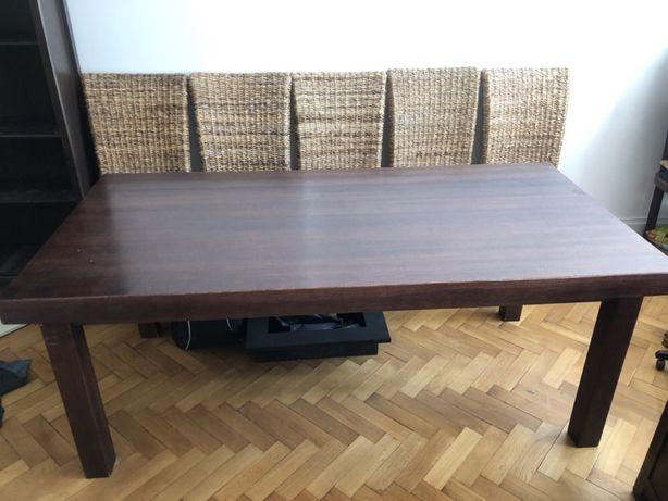 stół z litego drewna w stylu Almi Decor
