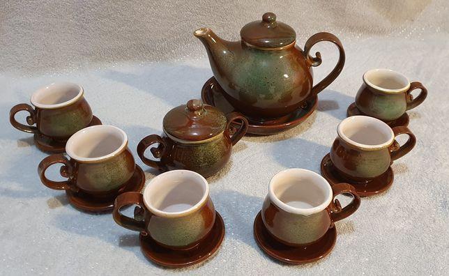 Kamionkowy zestaw do herbaty z dobrych lat