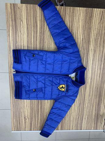 Куртка стьогана Ferrari