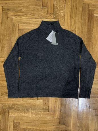 Y.A.S новый пуловер  свитер серый кофта (Bershka, Pull&Bear)