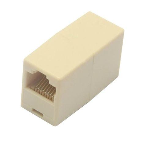 Модуль соединитель, муфта, сращиватель кабелей RJ-45 сети Ethernet LAN