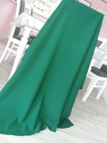 Tkanina materiał 250x150 zielony