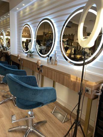 Móveis cabeleiro exposição mobiliário
