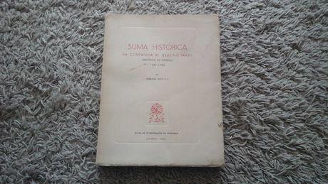 Suma Histórica da Companhia de Jesus no Brasil 1965 Serafim Leite