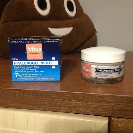 Mixa крем-маска ночной для чувствительной обезвоженой кожи