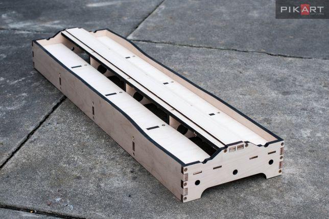 """Moduł FREMO E96 x 250 mm""""jamnik"""" długość 900mm do montażu."""
