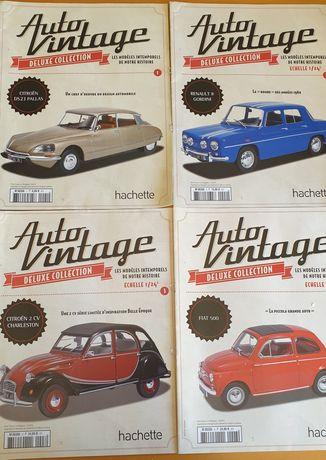 Revistas de coleção de carros míticos dos anos 70