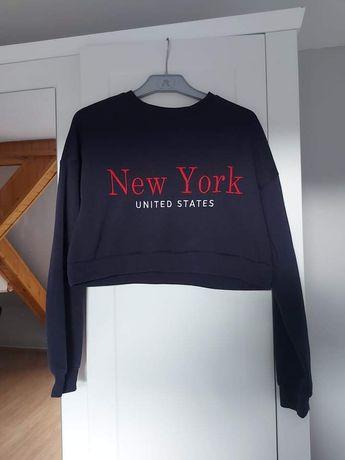 Bluza krótka H&M rozmiar XS crop top