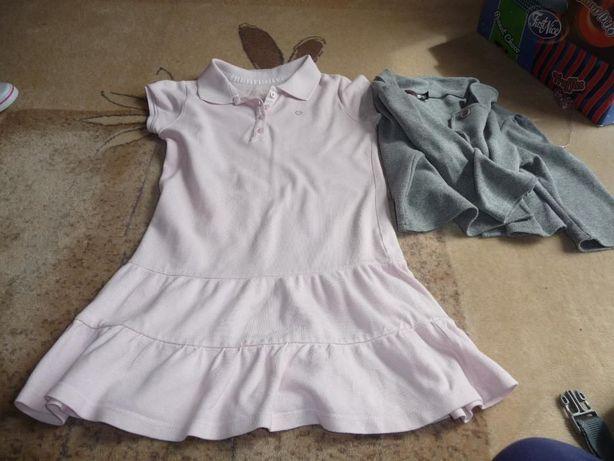 Zestaw ubranek dla dziewczynki na 122-128