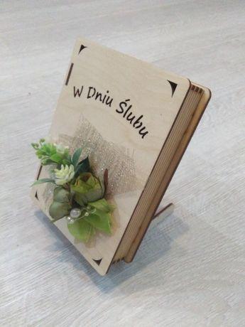 Drewniane Pudełko na pieniądze/życzenia