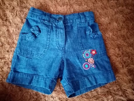 Джинсовые летные шорты