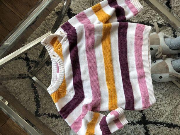 Jesienno-zimowy sweter H&M 74