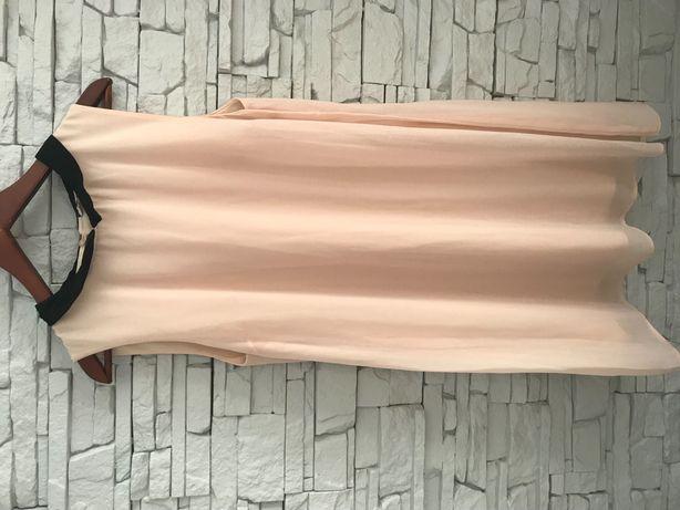 Sukienka New Look, rozmiar M, kolor kremowy