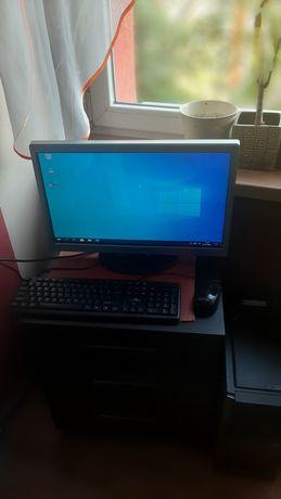 Zestaw komputerowy komputer z procesorem I5 i monitorem 22'