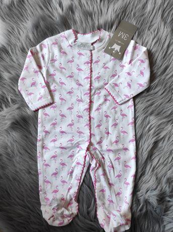 Pajacyki, śpiochy niemowlęce, nowe z metką, 62