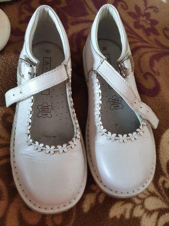 Туфли кожаные. 30 размер