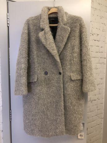 Зимнее пальто теплое Zara (Cos, Mango, HM) 38р