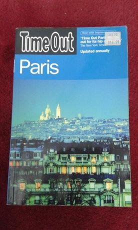 Przewodnik po angielsku wyd. Time out - Paryż English