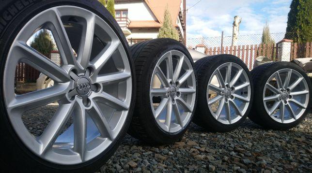 Felgi Koła Audi 18 cali 5x112 ET52 8J0 Opony 245/40