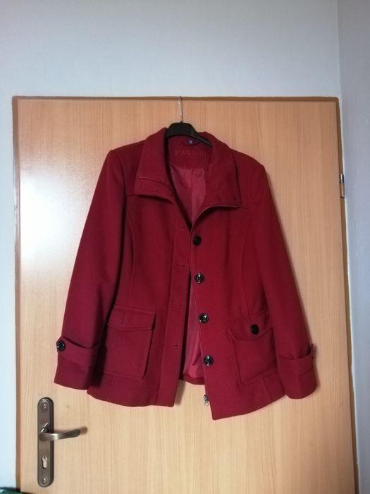 Płaszcz damski czerwony r. 40 Rybnik - image 1