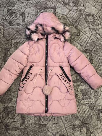 Теплый зимний пуховик, курточка, плащ