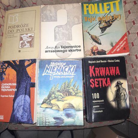 Książki Mix 33 szt,  35 złotych