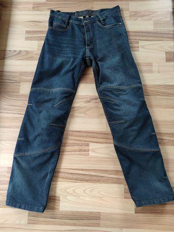 Spodnie jeans motocyklowe Vanucci