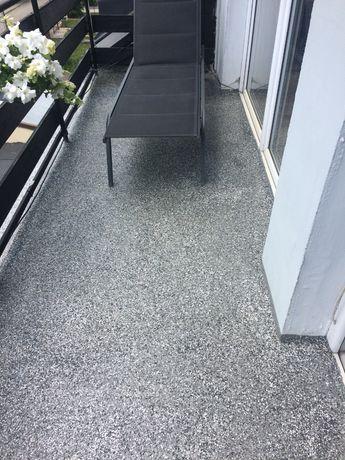 żywica uv na balkon taras 46zł/m2 komplet 10m2 zamiast kamienny dywan