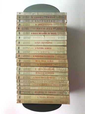 Colecção Miniatura dos Livros do Brasil - 11 livros