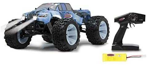 "RC Jamara 60km/h 1:10 Scale 2.4 GHz ""Ice Tiger"" 4WD  Monster Truck LED"