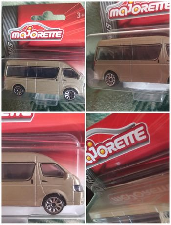 Model Majorette Toyota Hiace Bus  Street Cars