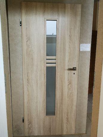 Drzwi wewnętrzne pokojowe skrzydło 80 lewe sonoma