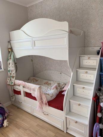 Двухъярусная кровать двох'ярусне ліжко двухьярусная кроватка матрац