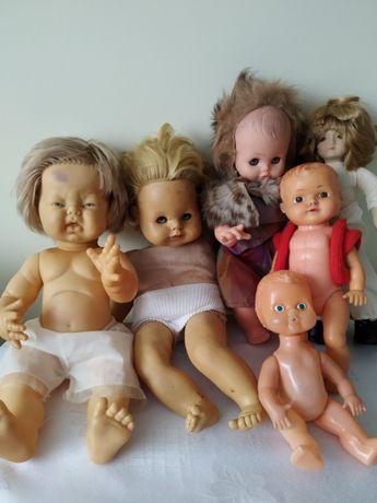 PRL Stara lalka lalki
