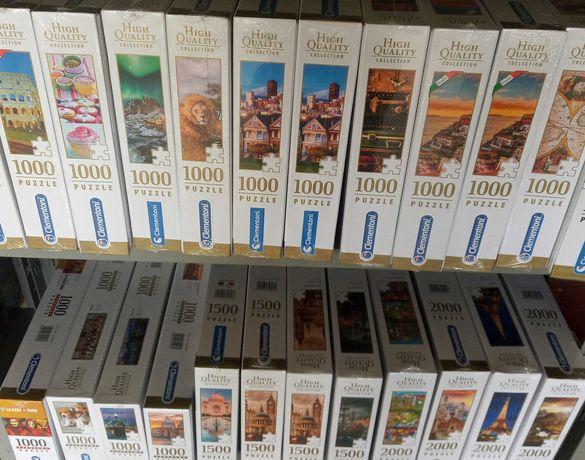 PuzzlesPt - Puzzle Clementoni 500, 1000, 1500, 2000 peças [Novo]