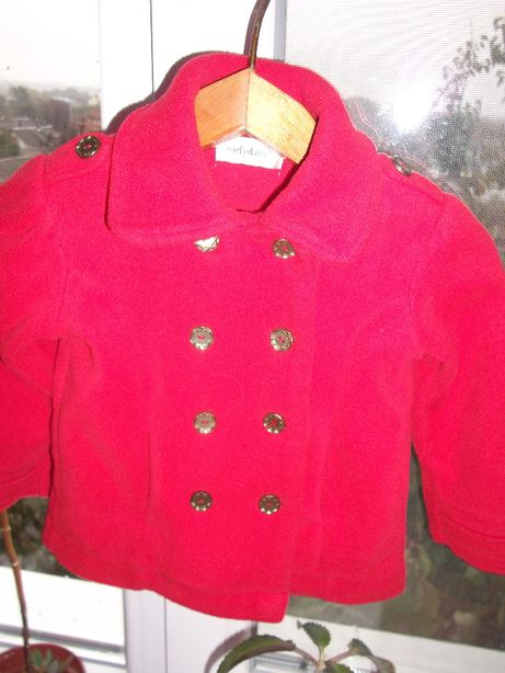 Кофта,пиджак флисовыйEARLY DAYS на девочку до 3 лет