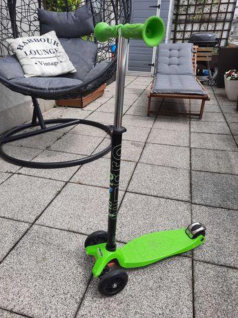 Maxi micro hulajnoga zielona