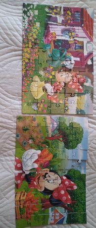 Puzzle dla dziewczynki 9 plansz