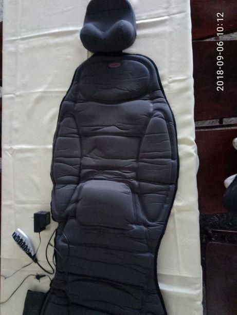 Массажна накладка на крісло