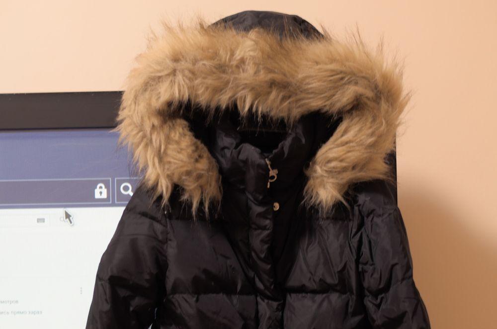 Пальто куртка пуховик ZARA Одесса - изображение 1