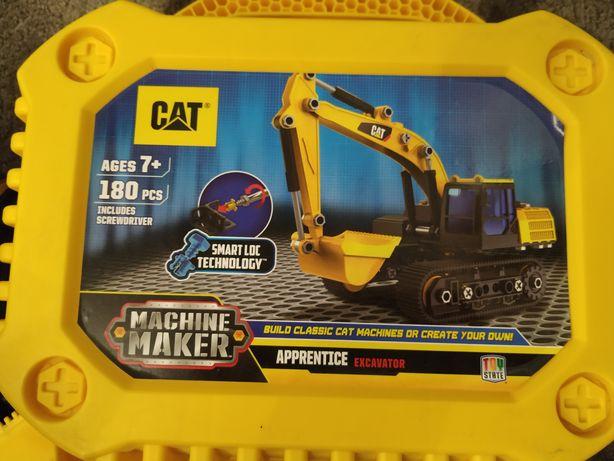 Конструктор Экскаватор Machine Maker CAT
